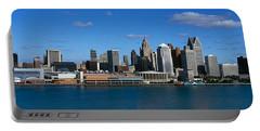 Usa, Michigan, Detroit Portable Battery Charger
