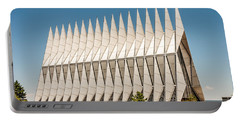 Air Force Academy Chapel Portable Battery Charger by Sue Smith