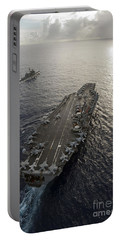 Uss George Washington And Uss Mobile Portable Battery Charger