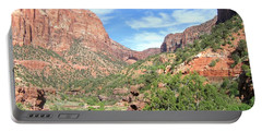 Portable Battery Charger featuring the photograph Utah 21 by Will Borden