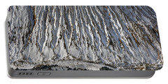Utah Copper Mine Tailings Pile In Winter Portable Battery Charger