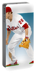 Utley In The Ready Portable Battery Charger by Scott Weigner