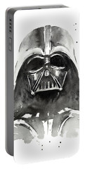 Darth Vader Watercolor Portable Battery Charger