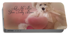 Valentine Bear 2 Portable Battery Charger