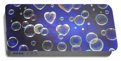 Valentine Bubbles Portable Battery Charger