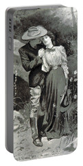 Valentines Day, 1898 Portable Battery Charger