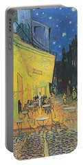 Van Gogh Cafe Terrace At Night 1888 Portable Battery Charger