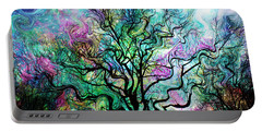 Van Gogh's Aurora Borealis Portable Battery Charger