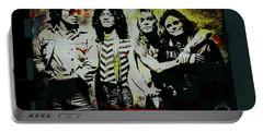 Van Halen - Ain't Talkin' 'bout Love Portable Battery Charger by Absinthe Art By Michelle LeAnn Scott