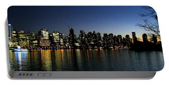 Portable Battery Charger featuring the photograph Vancouver Skyline by Will Borden