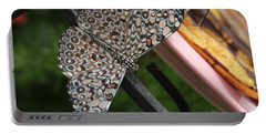 Portable Battery Charger featuring the photograph Variable Craker Butterfly #2 by Judy Whitton
