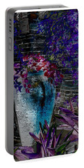 Portable Battery Charger featuring the photograph Vase by Athala Carole Bruckner