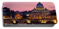 Vatican Twilight Portable Battery Charger by Brian Jannsen