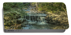 Portable Battery Charger featuring the photograph Vaughan Woods Stream by Jane Luxton