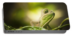 Veiled Chameleon Is Watching You Portable Battery Charger