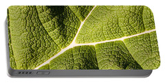 Veins Of A Leaf Portable Battery Charger