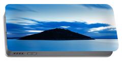 Veli Osir Island At Dawn Portable Battery Charger