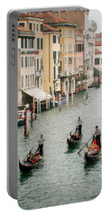 Portable Battery Charger featuring the photograph Venice by Silvia Bruno