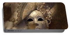 Venetian Face Mask F Portable Battery Charger