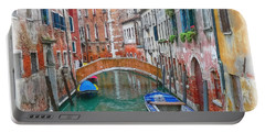 Venetian Idyll Portable Battery Charger by Hanny Heim
