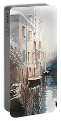 Venezia Sotto La Neve Portable Battery Charger
