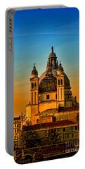 Venezia-basilica Of Santa Maria Della Salute Portable Battery Charger