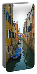 Portable Battery Charger featuring the photograph Venice Canal by Silvia Bruno