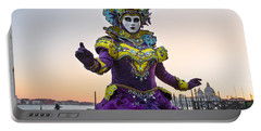 Venice Carnival Iv Portable Battery Charger