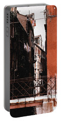 Portable Battery Charger featuring the photograph A Chapter In Venice by Ira Shander