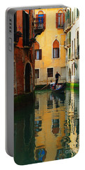 Venice Reflections Portable Battery Charger by Bob Christopher