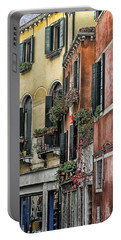 Windows In Venice  Portable Battery Charger