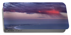 Portable Battery Charger featuring the photograph Ventura Beach by Michael Gordon