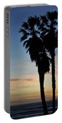 Ventura Palm Sunset Portable Battery Charger