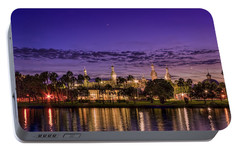 Venus Over The Minarets Portable Battery Charger by Marvin Spates
