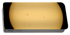 Portable Battery Charger featuring the photograph Venus Transit by Jason Politte