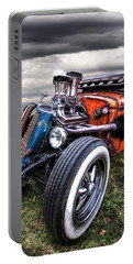 Vermin's Diner Rat Rod Front Portable Battery Charger