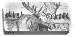 Vermont Bull Moose Portable Battery Charger