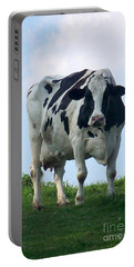 Vermont Dairy Cow Portable Battery Charger by Eunice Miller