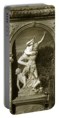 Versailles Colonnade And Sculpture Portable Battery Charger
