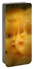 Very Scary Doll Portable Battery Charger by Lynn Sprowl