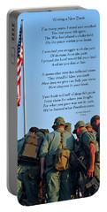 Veterans Remember Portable Battery Charger by Carolyn Marshall