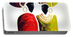 Vibrant Zulu Ladies - Original Artwork Portable Battery Charger