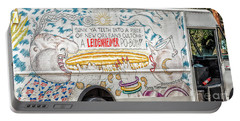 Vic And Nat'ly And The Leidenheimer Po-boy Truck - New Orleans Portable Battery Charger