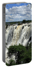 Victoria Falls On The Zambezi River Portable Battery Charger