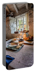 Victorian Cottage Breakfast Portable Battery Charger