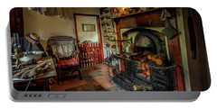 Victorian Fire Place Portable Battery Charger