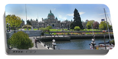 Victoria's Parliament Buildings Portable Battery Charger