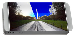 Viet Nam Memorial And Obelisk Portable Battery Charger