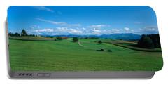 View Along Rural Hillside, Zurich Portable Battery Charger