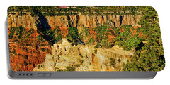 Portable Battery Charger featuring the photograph View From Angel Point  by Bob and Nadine Johnston